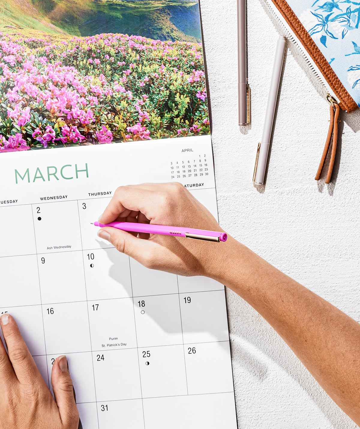 Shop Calendars and Planners
