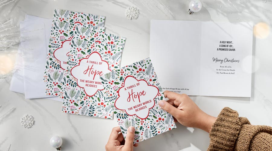 Shop Personalized Christmas Boxed Cards